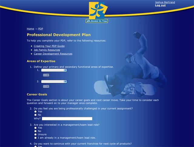 Ken Pratt Ea Career Management System